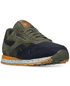 Reebok Men's Classic Leather SM Casual Sneakers from Finish Line