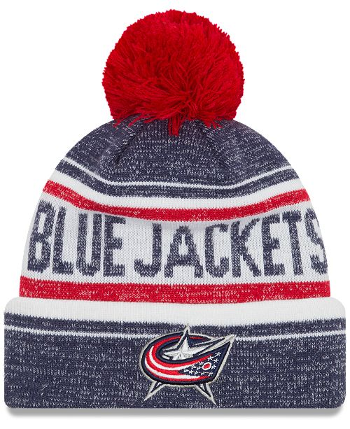 New Era Columbus Blue Jackets Snow Dayz Knit Hat - Sports Fan Shop ... 6c7bb5e25016