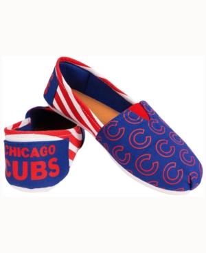 Women's Chicago Cubs Canvas Stripe Shoe