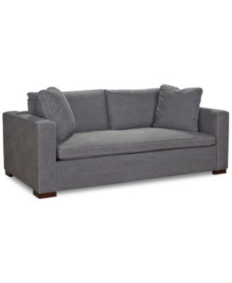 cirillo fabric apartment sofa created for macyu0027s