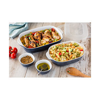 Corningware Midnight 6-Pc. Bakeware Set (Taupe)
