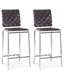 Daniel Set of 2 Counter Chairs