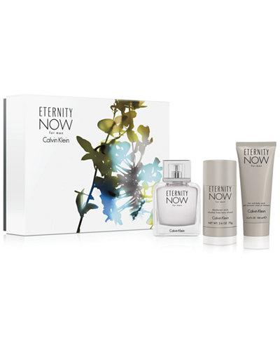 Calvin Klein Men's 3-Pc. Eternity Now Gift Set
