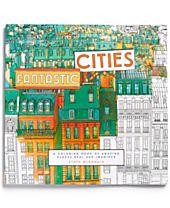 Celebrate Shop Fantastic Cities Coloring Book