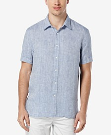 Men's Chambray Linen Shirt