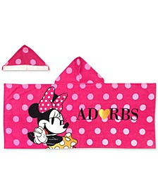 Minnie XOXO Hooded Towel