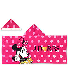 Jay Franco Minnie XOXO Hooded Towel