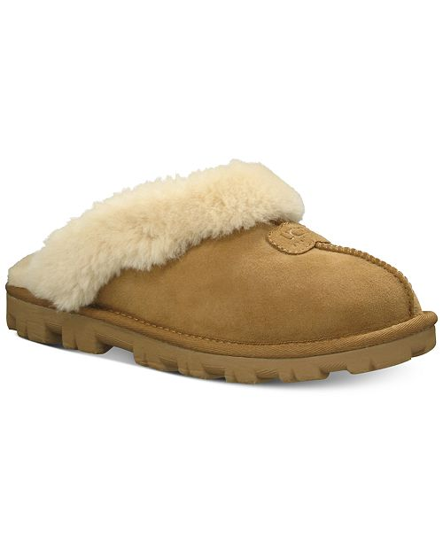 c66f45dbd6 UGG® Women s Coquette Slide Slippers   Reviews - Slippers - Shoes ...