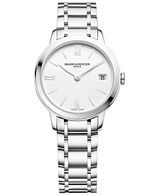 Women's Swiss Classima Stainless Steel Bracelet Watch 31mm M0A10335