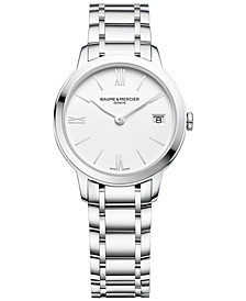 Baume & Mercier Women's Swiss Classima Stainless Steel Bracelet Watch 31mm M0A10335