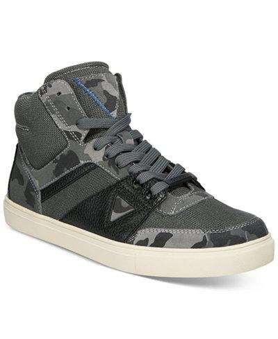 GUESS Men's Thresh High-Top Sneakers