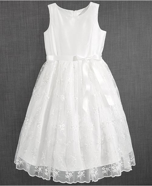 05d8b223fff9 Us Angels Blush by Embroidered Communion Dress, Little Girls ...