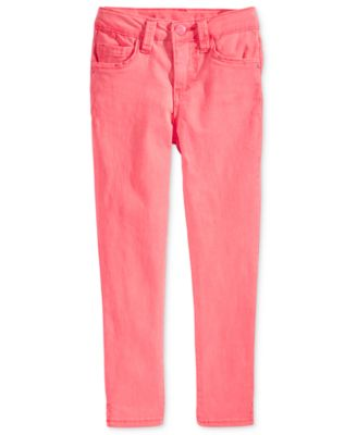 Image of Celebrity Pink Super Soft Colored Denim Jeans, Toddler & Little Girls (2T-6X)