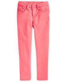 Celebrity Pink Super Soft Colored Denim Jeans,  Little Girls (4-6X)