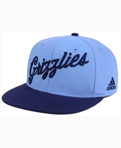 adidas Memphis Grizzlies Seasons Greeting Snapback Cap