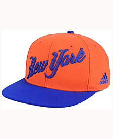 adidas New York Knicks Seasons Greeting Snapback Cap