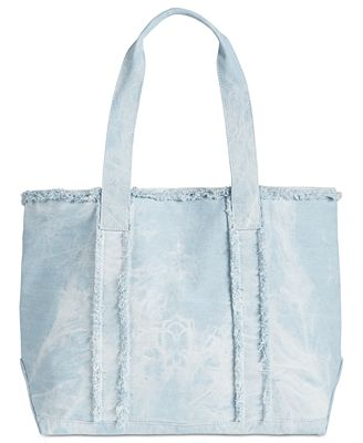 Celebrate Shop Denim Tote Bag