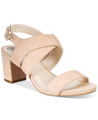 Image of Alfani Women's Regann Block-Heel Sandals, Only At Macy's
