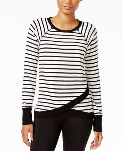 Tommy Hilfiger Sport Striped Crossover Top, A  Exclusive Style