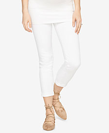 AG Jeans Maternity White Wash Skinny Jeans