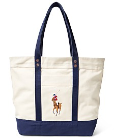Polo Ralph Lauren Men's Big Pony Tote