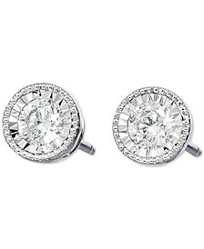 TruMiracle® Diamond Stud Earrings (3/4 ct. t.w.) in 14k White Gold