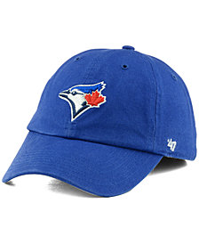 '47 Brand Kids' Toronto Blue Jays Clean Up Cap