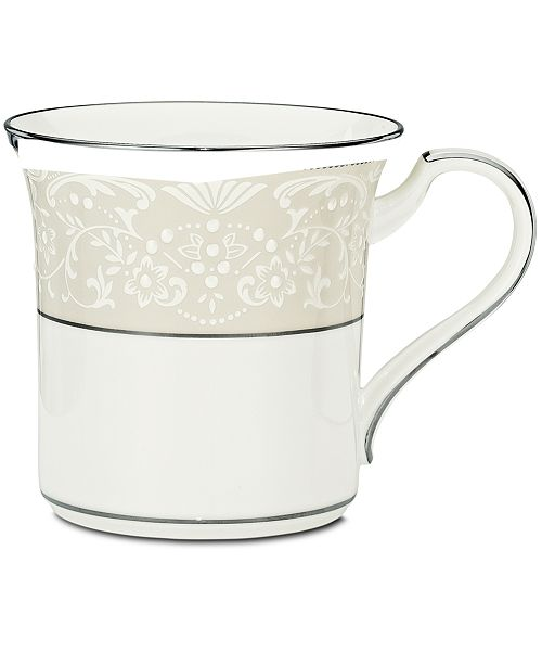 "Noritake ""Silver Palace"" Mug"