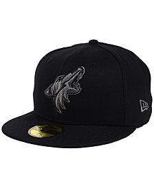 New Era Arizona Coyotes Black Graph 59FIFTY Cap