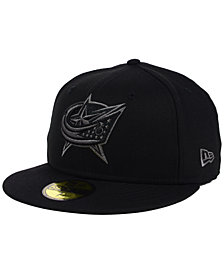 New Era Columbus Blue Jackets Black Graph 59FIFTY Cap