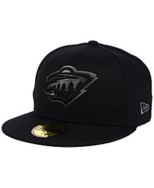 New Era Minnesota Wild Black Graph 59FIFTY Cap