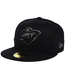 New Era Minnesota Wild Black Graph 59FIFTY Cap
