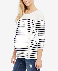 Motherhood Maternity Striped Sweater