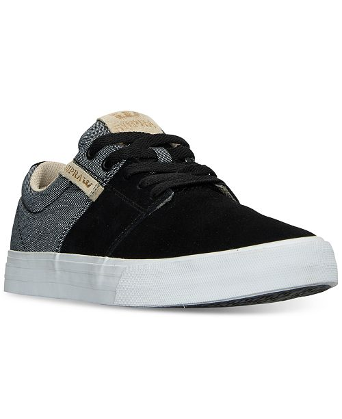 b645ba4fc699 SUPRA Men s Stacks Vulc II Casual Sneakers from Finish Line ...