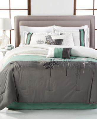 CLOSEOUT! Bisset 7-Piece Queen Comforter Set