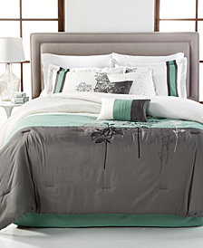 CLOSEOUT! Bisset 7-Piece Queen Comforter Set