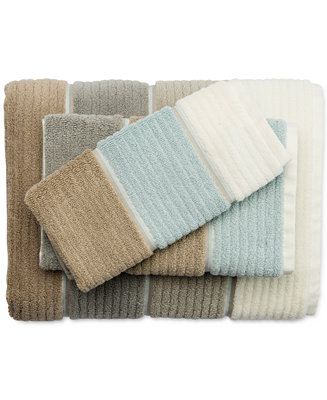 Caro Home Buenos Aires Colorblocked Bath Towel Collection