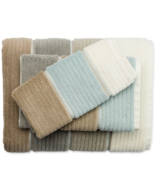 Buenos Aires Colorblocked Bath Towel Collection