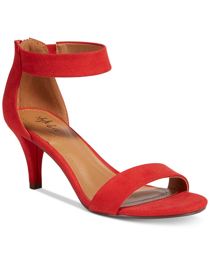 Style & Co - Paycee Two-Piece Dress Sandals