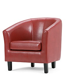 Westbrook Faux Leather Tub Chair