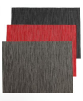 chilewich bamboo woven vinyl placemat collection table linens dining u0026 macyu0027s - Vinyl Placemats