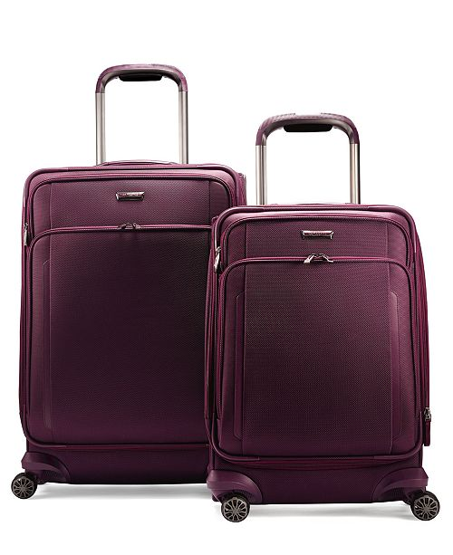Samsonite CLOSEOUT! Silhouette XV Softside Expandable Spinner Luggage