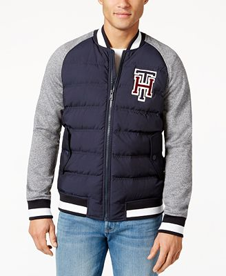 Tommy Hilfiger Men's Big & Tall Hanover Baseball Jacket - Coats ...