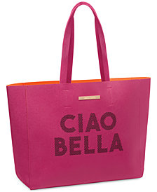 Receive a Complimentary Tote with any large spray purchase from the Vince Camuto fragrance collection