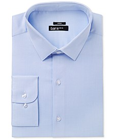 Men's Classic/Regular Fit Stretch Dress Shirt, Created for Macy's