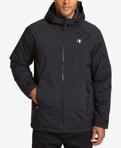 Champion Men's Tech Hooded Snowboard Jacket