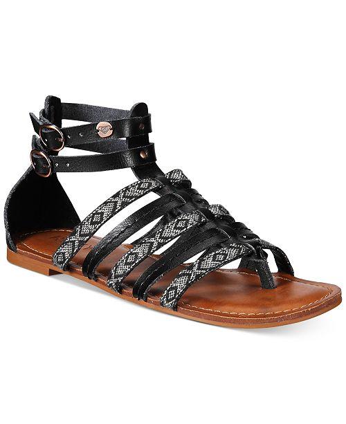 765b9430c7f Roxy Emilia Gladiator Sandals Flip Flops Shoes Macy S