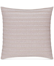 "CLOSEOUT! Hotel Collection Rosequartz Linen 20"" Square Decorative Pillow, Created for Macy's"