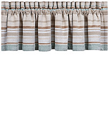 "J Queen New York Newport 88"" x 14"" Straight Window Valance"