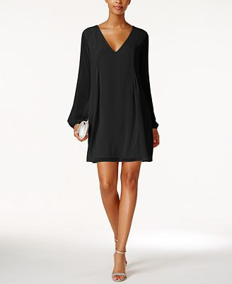 BCBGeneration Chiffon Cocktail Dress - Dresses - Women - Macy's
